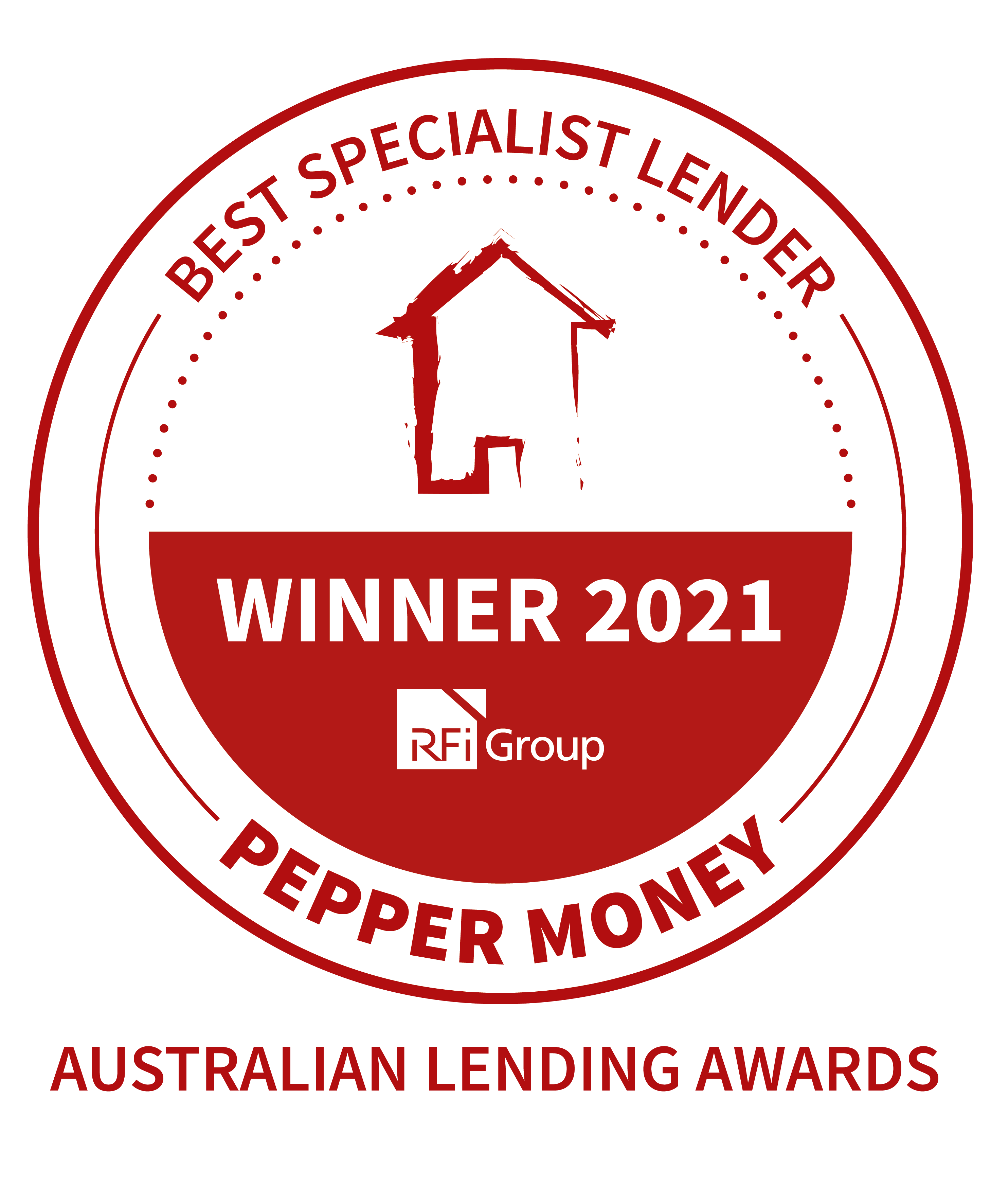 Pepper Money wins Best Specialist Lender at the 2021 Australian Lending Awards