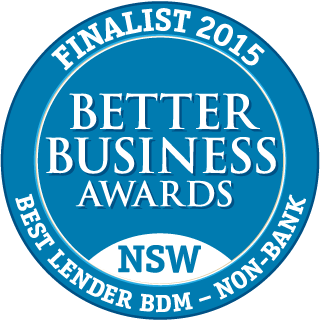 NSW Best Lender BDM - Non-Bank - Finalist 2015