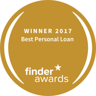 best personal loan finder award icon