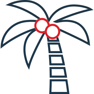 Icon of a palmtree