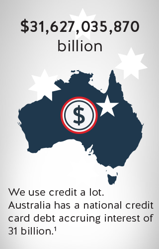 an icon of australian map with a dollar sign