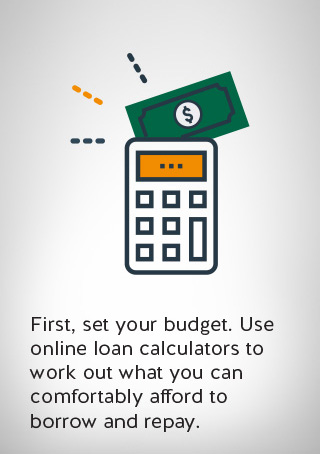 an image of budgeting calculator