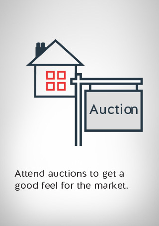 an auction signage