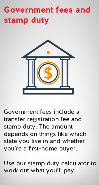 an image illustrating government fees including stamp duty