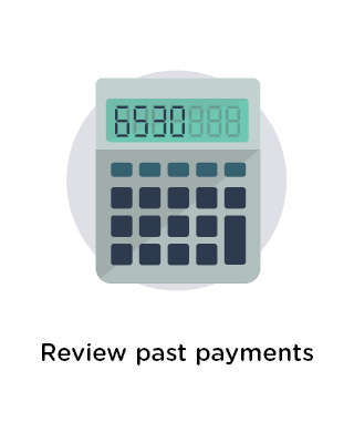 Review past payments