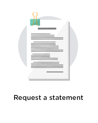 Request a statement